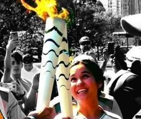 Kosaka_olympic_torch